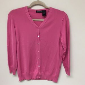 Liz Claiborne Hot Pink Sweater